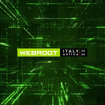 Webroot Italy Online 2020